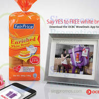 Read more about NTUC Fairprice FREE Enriched White Bread For OCBC Cardmembers 15 - 21 Oct 2014