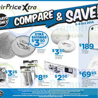 Read more about NTUC Fairprice Air Purifier & 1TB Hard Disk Promo 3 - 6 Oct 2014