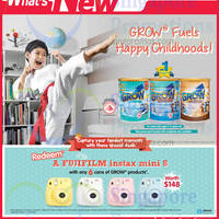 Read more about Grow Milk Powder Buy 6 Cans & Get Free Instax Camera @ NTUC Fairprice 10 - 31 Oct 2014