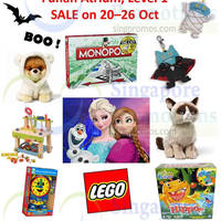 Natures Collection Toys Atrium Fair @ Funan Digitalife Mall 24 - 26 Oct 2014