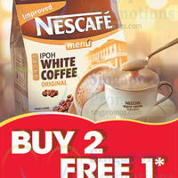 Read more about Nescafe Ipoh White Coffee Buy 2 Get 1 Free Promo 1 - 31 Oct 2014