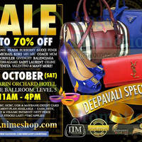 Read more about Nimeshop Branded Handbags Sale @ Mandarin Orchard 18 Oct 2014