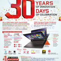 Read more about Lenovo Notebooks & Desktop PC Offers 1 - 31 Oct 2014