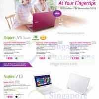 Read more about Acer Notebooks, Desktop PCs, Tablets & Monitors Price List 16 Oct - 26 Nov 2014