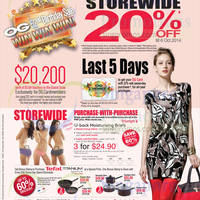 Read more about OG 20% OFF Storewide 52nd Birthday Sale Promo 2 - 6 Oct 2014