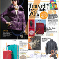 Read more about OG 20% OFF Travel Essentials Promo 30 Oct - 12 Nov 2014