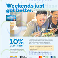 Read more about POSB Everyday Card Dining & Grocery Shopping 10% Cash Rebate Weekend Promo 4 - 26 Oct 2014