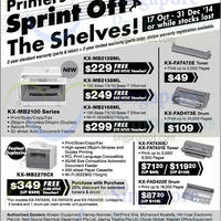 Read more about Panasonic Printer Offers 17 Oct - 31 Dec 2014