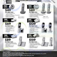 Panasonic Dect Phones Offers 24 Oct - 31 Dec 2014
