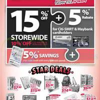 Read more about Popular 15% OFF Mega Sale @ Selected Outlets 30 Oct - 9 Nov 2014