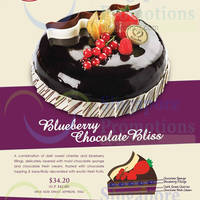 Read more about Prima Deli Blueberry Chocolate Bliss Cake Promo 1 - 31 Oct 2014