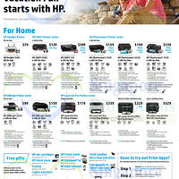 Read more about HP Printers & Scanners Promotion Offers 1 - 31 Oct 2014