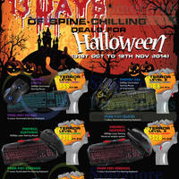 Prolink Halloween Special Offers 31 Oct - 12 Nov 2014