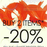 Read more about Promod 20% Off Second Item Promo 20 Oct - 2 Nov 2014