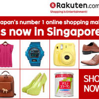 Rakuten Singapore 14% OFF (NO Min Spend) 1-Day Coupon Code 5 Jul 2015