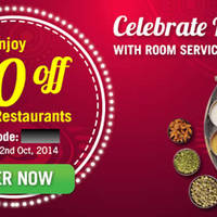 Room Service Food Delivery $10 OFF 1-Day Coupon Code 22 Oct 2014