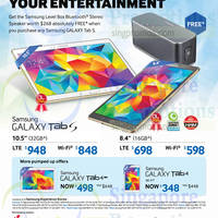 Read more about Samsung Galaxy Tab S & Tab 4 Promo Offers 17 Oct 2014