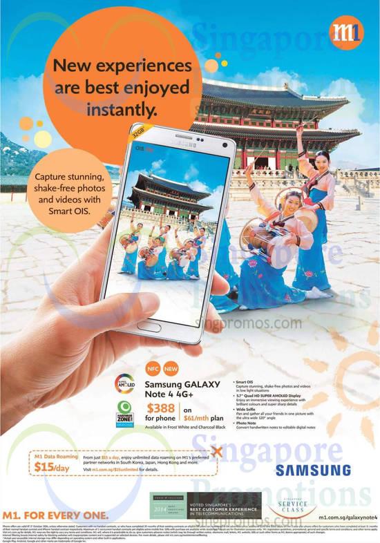 Samsung Galaxy Note 4 4G Plus