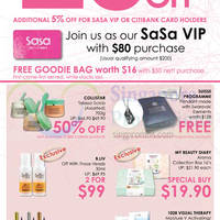 Read more about Sasa Opening Special Offers @ Bugis Junction 31 Oct - 9 Nov 2014