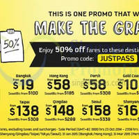 Scoot 2-Days Promo Air Fares 23 - 24 Oct 2014