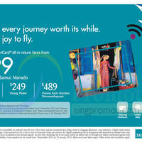Read more about Silkair Promotion Air Fares 9 - 26 Oct 2014