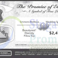 Read more about Simmons Beautyrest Eternity Mattress Offer 11 Oct 2014