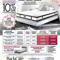 Read more about Takashimaya King Koil, Sealy, Dunlopillo, Simmons & Tempur Mattress Offers 3 - 19 Oct 2014