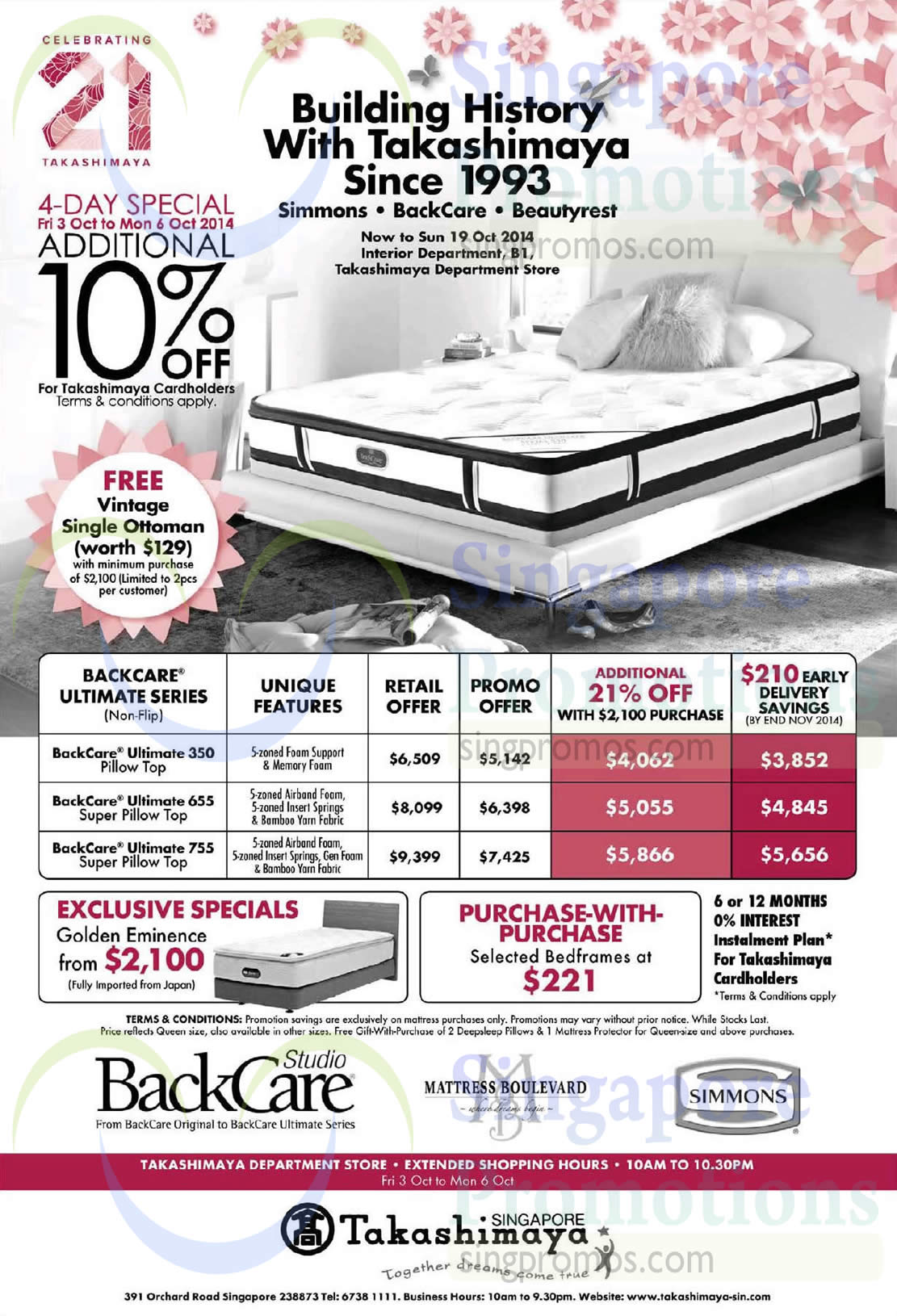 Simmons BackCare Ultimate 350 Mattress, Simmons BackCare Ultimate 655 Mattress, Simmons BackCare Ultimate 755 Mattress