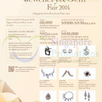 Singapore Jewellery & Gem Fair @ Marina Bay Sands 23 - 26 Oct 2014
