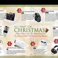 Read more about Sony Christmas Gift Guide 27 Oct 2014