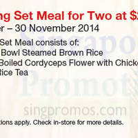 Read more about Soup Restaurant $29.90 Nourishing Set Meal Coupon 1 Sep - 30 Nov 2014