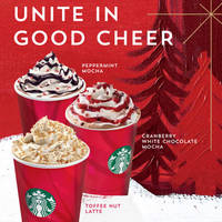Starbucks Christmas Beverages Are BACK! 23 Oct 2014