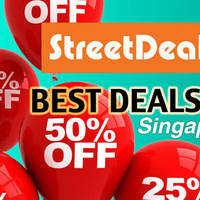 StreetDeal.sg 30% OFF All Deals Discount Promo Code 6 - 9 Feb 2016