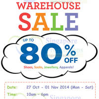 Read more about Stride Rite Warehouse Sale Up To 80% Off 27 Oct - 1 Nov 2014
