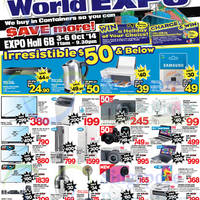 Read more about Harvey Norman Electrical & I.T World Expo @ Singapore Expo 3 - 6 Oct 2014