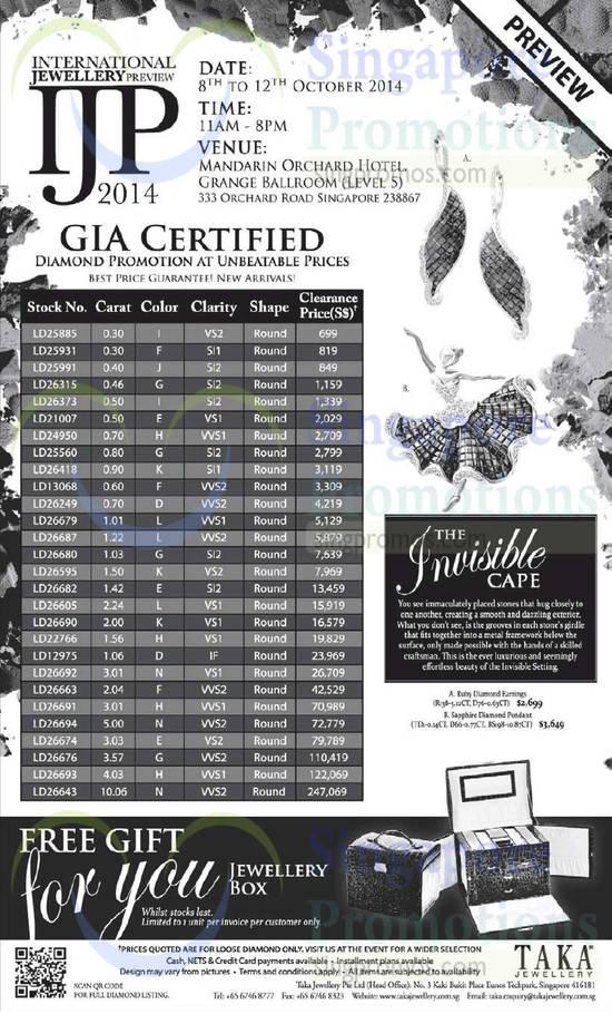 Taka Jewellery 7 Oct 2014