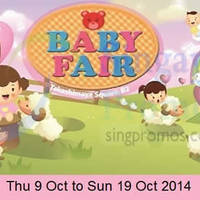 Read more about Takashimaya Baby Fair 9 - 19 Oct 2014