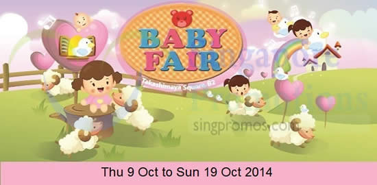 Takashimaya Baby Fair 1 Oct 2014