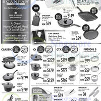 Takashimaya Scanpan Kitchenware Offers 31 Oct - 11 Nov 2014