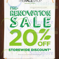 Read more about The Face Shop 20% OFF Storewide @ Tampines Mall 14 - 16 Oct 2014