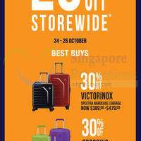 The Planet Traveller 20% OFF Storewide Promo 24 - 26 Oct 2014
