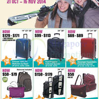The Travel Store 20% OFF Storewide Promo 21 Oct - 16 Nov 2014