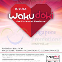 Read more about Toyota Wakudoki Roadshow @ VivoCity 29 Oct - 2 Nov 2014