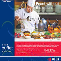Read more about Parkroyal Kitchener Road 1 For 1 & One Dines Free For UOB Cardmembers 10 Oct - 10 Dec 2014