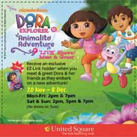 Read more about Dora the Explorer Live Shows & Meet & Greet @ United Square 20 Nov - 8 Dec 2014