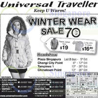 Read more about Universal Traveller Winter Wear Sale @ Chinatown Point 13 - 26 Oct 2014