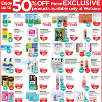 Read more about Watsons Personal Care, Health, Cosmetics & Beauty Offers 16 - 22 Oct 2014