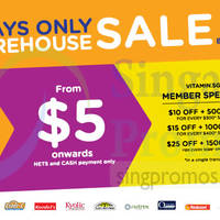 Vitamin.sg Warehouse Sale 23 - 25 Oct 2014