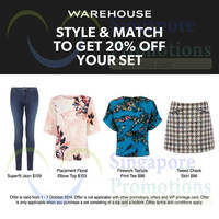 Warehouse 20% Off Style & Match Promo 1 - 7 Oct 2014