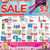Watsons Personal Care, Health, Cosmetics & Beauty Offers 23 - 29 Oct 2014